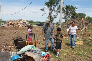 Jerez Family Sifts Through Home